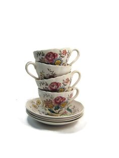 Vintage English Copeland Spode Gainsborough Tea by PSSimplyVintage, $60.00