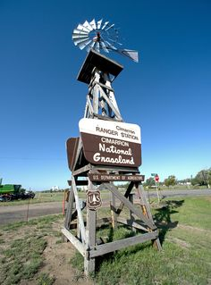 Historic Santa Fe Trail #Cimarron National Grasslands station in Elkhart, KS @ http://pinterest.com/rjburkhart3/kaw-valley-windmill-hill-legacies-legends/
