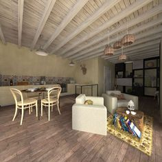 Idea, techniques, along with overview in pursuance of receiving the best result and also attaining the optimum perusal of home renovation on a budget Wooden House Plans, Small House Floor Plans, Home Renovation, Home Remodeling, Flat Roof House, Two Bedroom House, A Frame House, Spacious Living Room, Home And Living