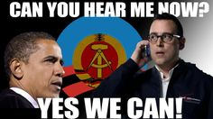 Oh, dear...one of the best yet.  Don't worry...the bad reception won't bother Obama. #NSA