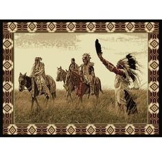 Native American Rug Sending Out