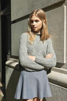 A Cozy - Kimchi Blue Dolman Turtleneck, Kimchi Blue Bella Pullover Sweater