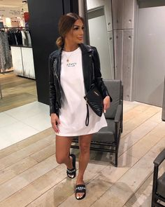 Visit our site for more Fashion and Trendy Outfits Cute Casual Outfits, Chic Outfits, Casual Chic, Summer Outfits, Fashion Outfits, Womens Fashion, Look Star, Look Blazer, Look Girl