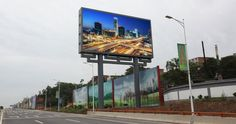 outdoor led advertising billboard structure