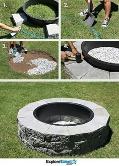 Simple landscaping ideas simple landscaping ideas and landscaping winters are almost round the corner and you must be thinking about giving your diy fire pit a much needed to revamp i bet you wont find any easier way to solutioingenieria Choice Image