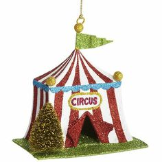Cute Circus Ornament For Your Christmas Tree - Ornament Reviews