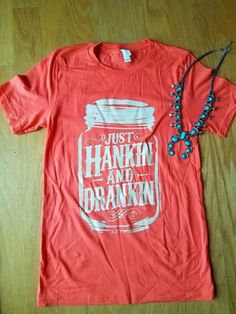 COWGIRL gYPSY JUST HANKIN AND DRANKIN Rodeo TEE Shirt Country Western SMALL #BAHARANCHWESTERNWEAR #TSHIRT