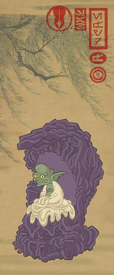 Ninja Star Wars: Yoda