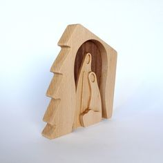 Thank you for noticing our wood nativity plaque! We designed it to be eye-catching and just-the-right-size for an apartment or office. It is made