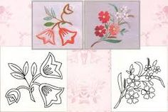 Resultado de imagen para BORDADO MEXICANO Hand Embroidery Designs, Embroidery Patterns, Cushion Embroidery, Diy Letters, Quilt Stitching, Cross Stitch Flowers, Embroidery Techniques, Embroidered Flowers, Beading Patterns