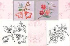 Resultado de imagen para moldes de ramos de flores para bordar