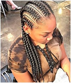 Sublime 50  Best Cornrow Hairstyles  Cornrow hairstyles are a conventional manner of braiding the hair near the scalp. It is also possible to choose and produce your own innovative hairstyles.� Long single braid hairstyles are created on hair a little beneath the shoulder#WomensBlackBraids #ProtectiveHairBraids #Hairstyle #Braid click now for more.