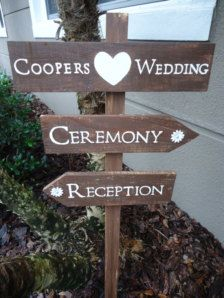 Wedding Decorations, Flowers, Ceremony & Reception Signs - Etsy