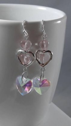Check out this item in my Etsy shop https://www.etsy.com/listing/585027443/heart-earrings-valentines-day-earrings