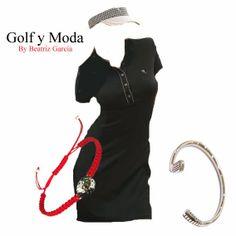 Golf + Moda + Glamour en los campos: Colección Primavera Verano 2014 Chervò Golf Golf, Glamour, Outfits, Black, Dresses, Fashion, Fields, Spring Summer, Vestidos
