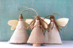 Sweet Tidings: Sweet Tidings 6th Day of Christmas: Earth Angel Ornaments