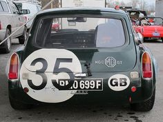 mg le mans roof light - Google Search