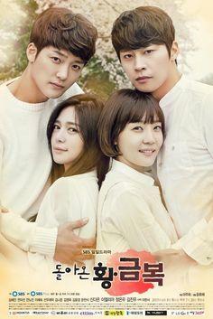 The Return of Hwang Geum-bok (Korean Drama - - 돌아온 황금복 All Korean Drama, Korean Drama Movies, Jung Eun Woo, Korean Tv Series, Taiwan Drama, Drama Tv Series, Dramas Online, In And Out Movie, 2015 Movies