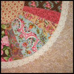 grandmother's fan quilt block template - Google Search