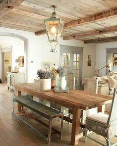 14 Country Dining Room Ideas…
