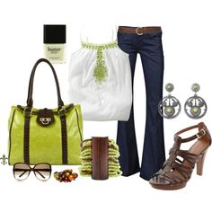 """""""Pintucked Lime"""" by hatsgaloore on Polyvore"""
