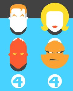 Forma & Co — Re-Vision — Pop Culture Icons — Fantastic Four