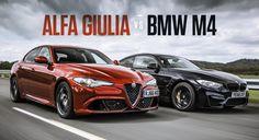 Alfa Romeo Giulia Quadrifoglio VS BMW M4 Competition Pack - https://www.topgear.nl/autotests/alfa-romeo-giulia-quadrifoglio-vs-bmw-m4-competition-pack/