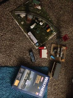End of day 2 haul, props for HO scale