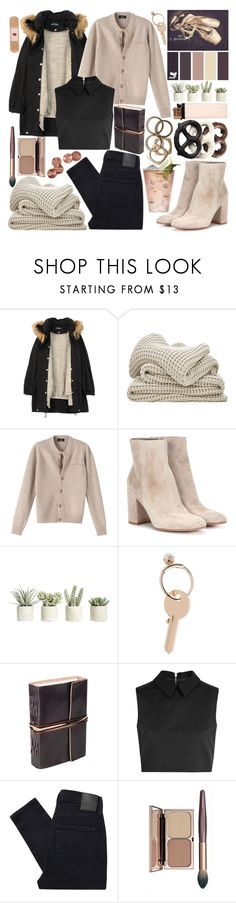 """#226"" by dana-bullsfan ❤ liked on Polyvore featuring Humör, A.P.C., Gianvito Rossi, Allstate Floral, Maison Margiela, McQ by Alexander McQueen, Nobody Denim, Rachel Leigh and Margarita"
