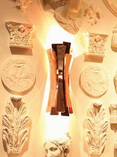 Copper contemporary lighting: etta wall from DelightFULL at www.delightfull.eu