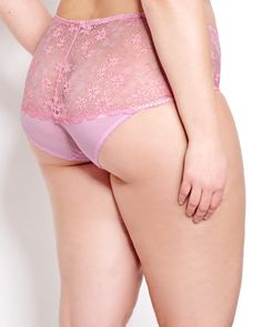 Lace Full Brief Panty - Déesse Collection