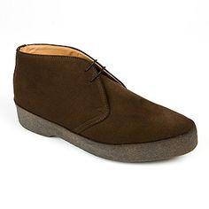 Sanders Chukka boots - Based on Steve McQueens shoe of choice Hutton's Original Playboys.