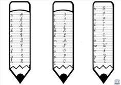 Creioane alfabet