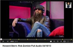 As Featured on Howard Stern Show!!- Comedienne Rob Zombie on GARBO sofa