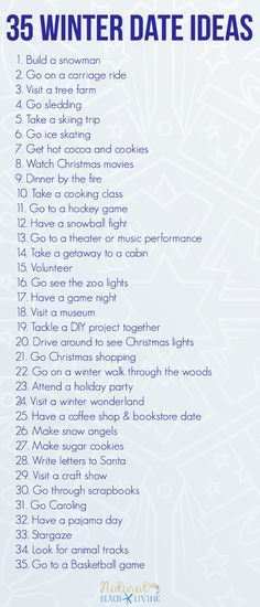 35 Fun Winter Date Ideas You Can Do On a Budget, Fun and Creative Dating ideas for Teens and Married Couples, Keep the love alive with spending time together, Frugal Date Ideas, Cute Date Ideas for Teenage Couples, creative date night ideas, Last Minute Date Ideas, Romantic Date Ideas for your Boyfriend #Datenight #winterideas #teens #marriage