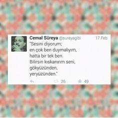 #ask #sevgi #siir #siirsokakta #cemalsureya #guzelsozler Learn Turkish, My Philosophy, Positive Words, Love You, My Love, Loving Someone, Cool Words, Love Quotes, Lyrics