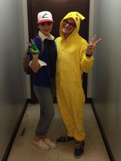 Ash Ketchum and Pika