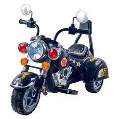 Lil Rider Road Warrior Motorcycle 3 Wheeler - Black