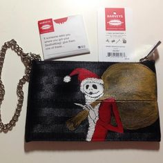 Sandy Claws Harveys Minnie Wristlet $70