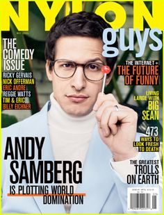 #Andy Samberg Gushes in' Men' About Spouse Joanna Newsom --- More News at : http://RepinCeleb.com  #celebnews #repinceleb #CelebNews