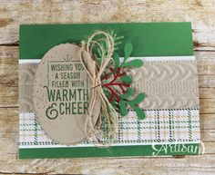 World Card Making Day, Stampin' Up! | Wrapped in Warmth