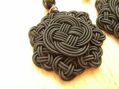 Black Chinese Knot Earring - JEWELRY AND TRINKETS