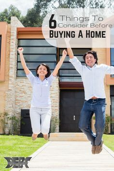Think you're ready to buy a house?  Make sure you're ready by considering these 6 things before buying a house! http://www.debtroundup.com/6-things-consider-before-buying-house/