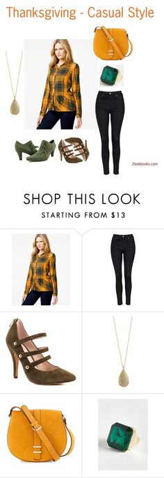 """Thanksgiving - Casual style"" by twolookbooks on Polyvore featuring Kensie, Topshop, Vince Camuto, Karen Kane, Neiman Marcus and Ann Creek"