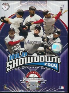 MLB SHOWDOWN 2004 - SPORTS CARD GAME Wizards of the Coast http://www.amazon.com/dp/B0002JZOGO/ref=cm_sw_r_pi_dp_Nf7fwb1JNXQQN