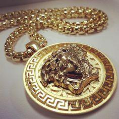 24K GOLD VERSACE