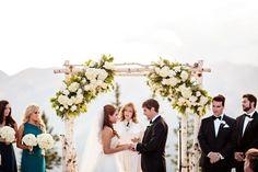 An Aspen Sundeck Wedding in Aspen, Colorado