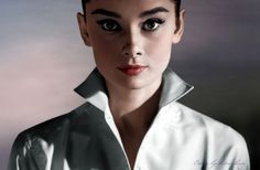 Audrey Hepburn by klimbims on deviantART