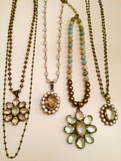 So Ready for Spring with Gemstone flowers! Email lisajilljewelry@gmail.com for info