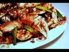 Crabs with Ginger in Black Beans Sauce: Authentic Chinese / Cantonese Cooking. - YouTube